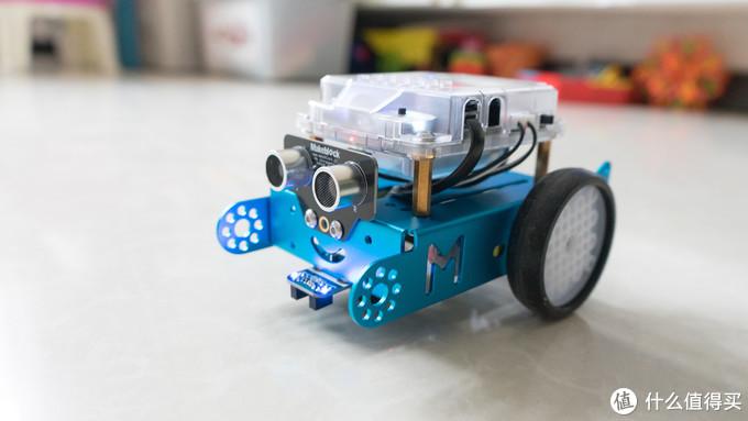 孩子编程入门的第一台教育机器人——童心制物(Makeblock)mBot产品体验