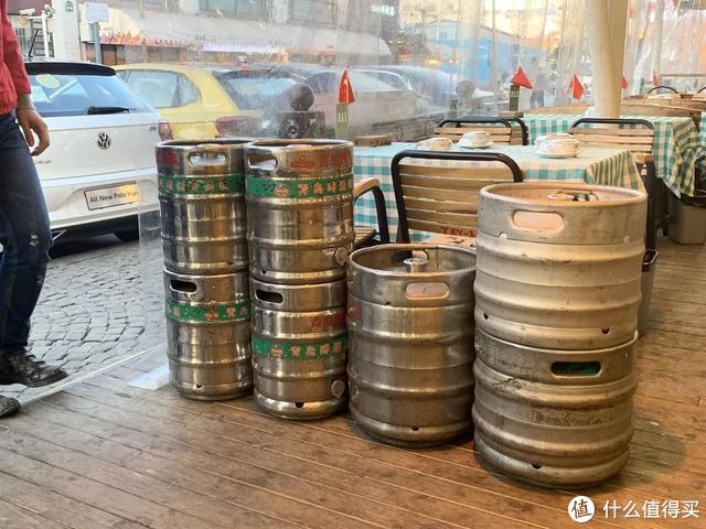 去青岛啤酒一厂喝原浆,酒后没开车
