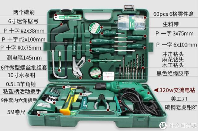 维修找不到工具?这套工具箱足够你折腾十年:世达58件套全面体验