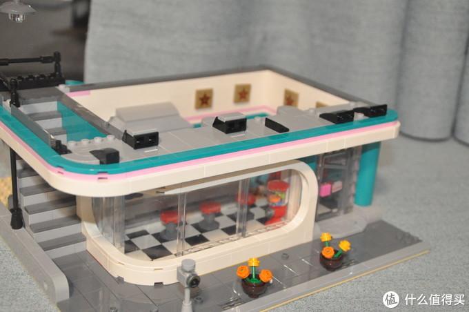 LEGO 乐高 街景 10260 Downtown Diner 美式怀旧餐厅