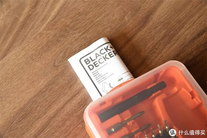 日常家居好帮手---百得BD40智能推启电动螺丝刀入手体验
