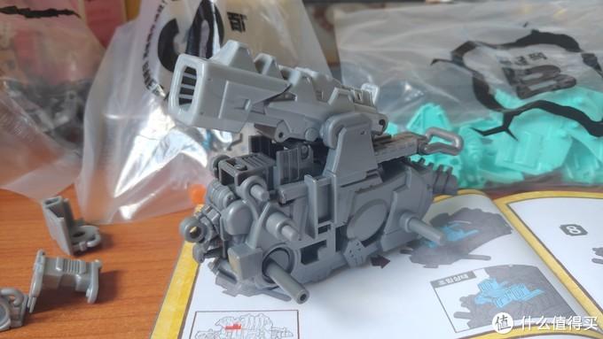 真・巨龟岩台号!——Zoids Wild 索斯机械兽 ZW05 炮龟兽