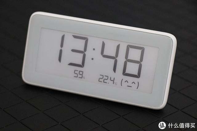米家温湿度监测电子表:集温度,湿度,时间于一体,还很智能哦