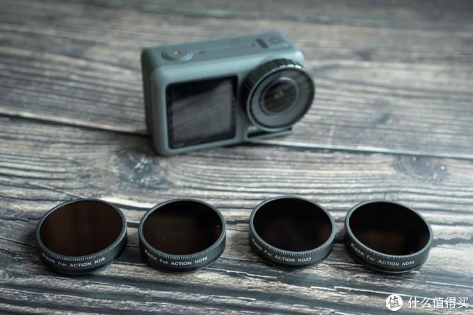 ND镜侧面标有对应相机型号及档位