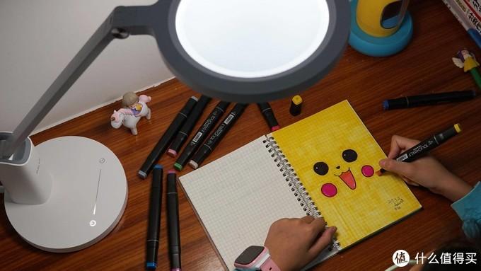 打造光线舒适的学习环境,达伦自然光护眼台灯体验!
