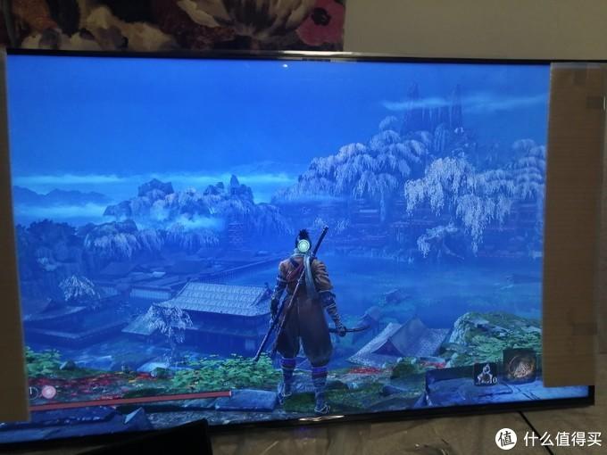 只狼4K正常显示,不过HDMI限制只有30帧,不能打铁只能看风景