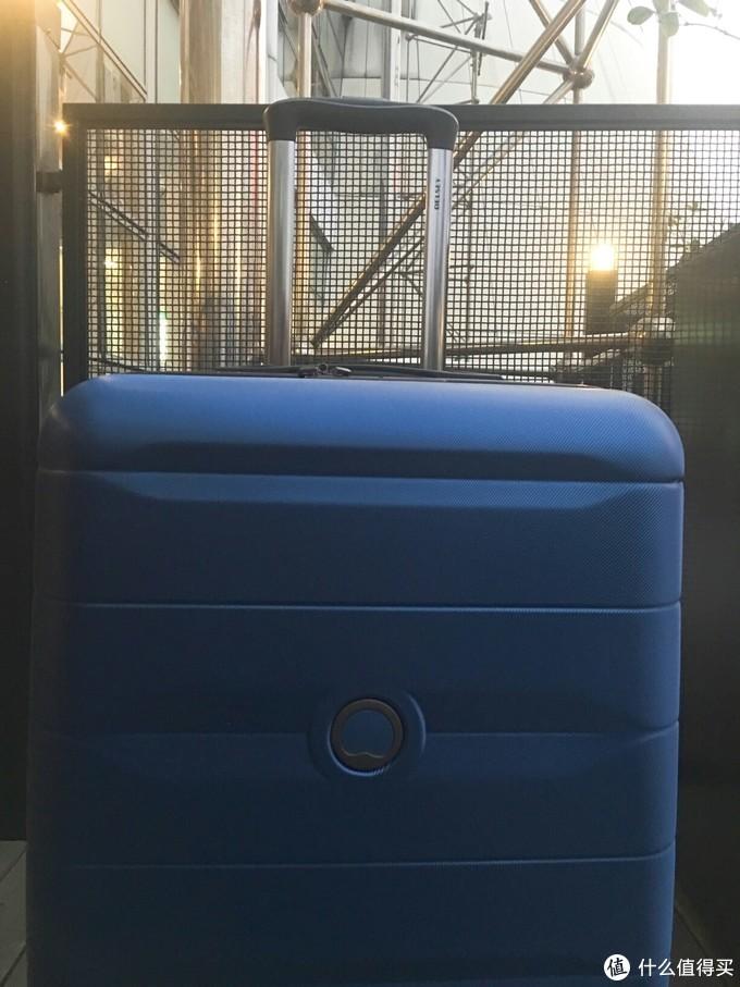 DELSEY彗星系列明星同款行李箱使用体验分享