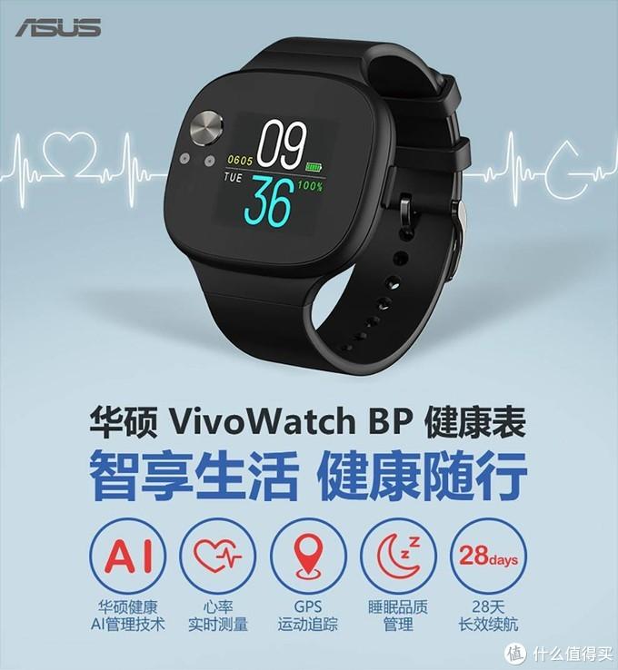 给自己的身体提个醒,华硕VivoWatch健康手表体验