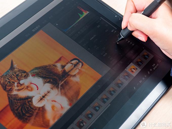 Wacom MobileStudio Pro 16运行Lightroom