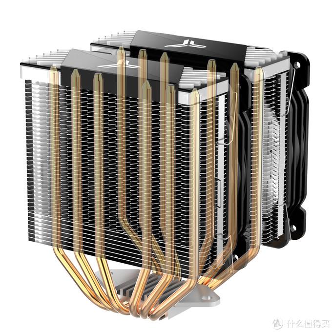 6热管双塔、神光同步:JONSBO 乔思伯 发布 CR-2000 高端散热器
