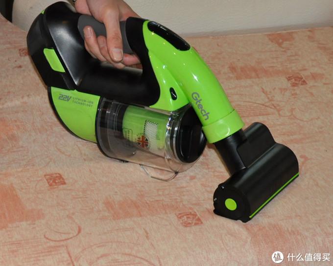 居拓吸尘器 为何要选用绿色?