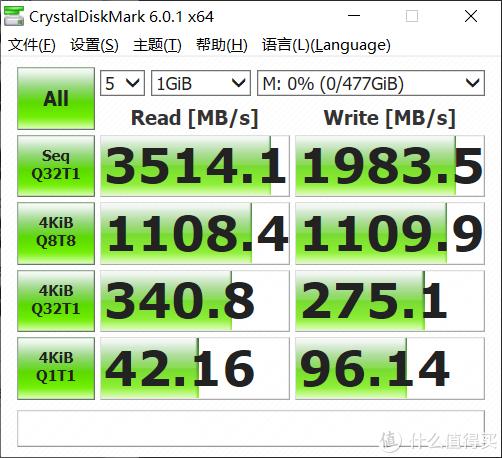 没有短板,双十一可以入手,Lexar NM700 M.2 NVMe足容512GB SSD上手测试
