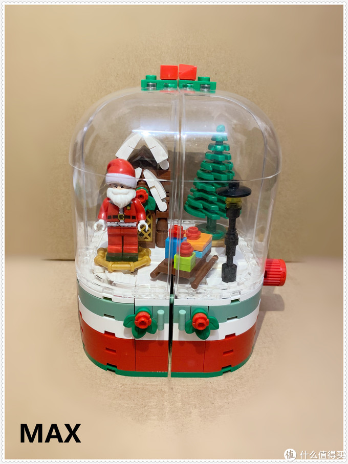【虚测评】森宝积木601090( 圣诞老人水晶球)