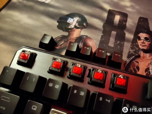 红龙精髓,吃鸡办公两不误,微星GK60电竞机械键盘上手感受
