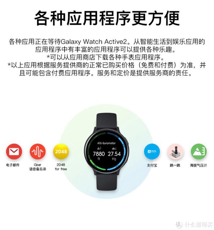 Galaxy Watch Active2晒单