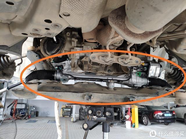 29万公里的福特翼虎底盘异响,方向机进水报废,车主烧钱式维修