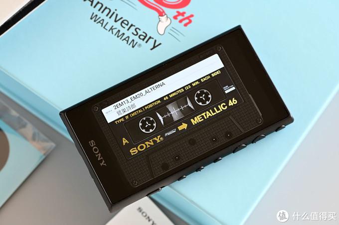 首开!索尼大法Walkman 40周年限定版A100TPS初体验