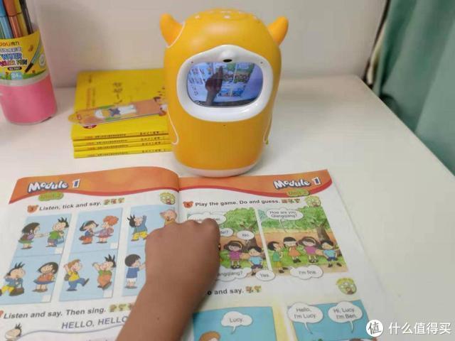 牛听听读书牛,指哪读哪的绘本阅读机器人,让孩子赢在起跑线
