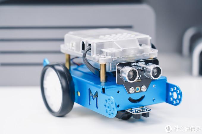 逻辑思维训练从娃娃抓起:童心制物(Makeblock) mBot儿童编程教育机器人