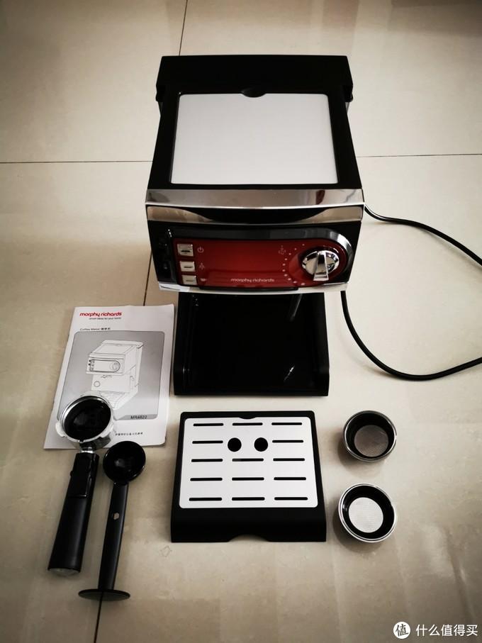 泵压初体验——磨飞 意式家用半自动咖啡机