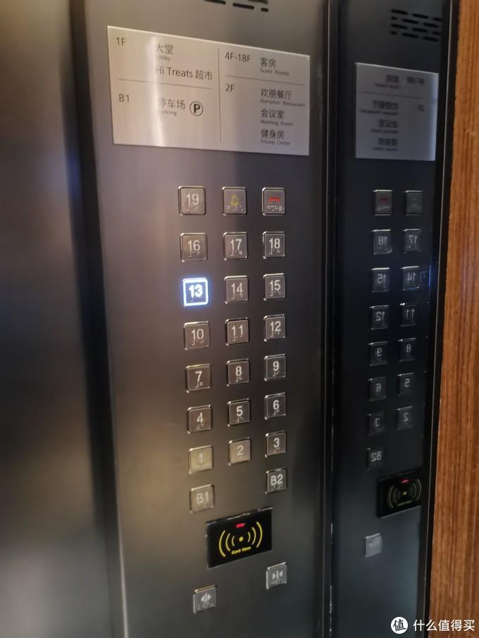 酒店分为19楼