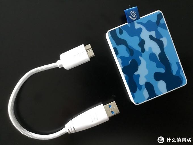 轻巧便携高颜值移动固态硬盘——希捷One Touch SSD