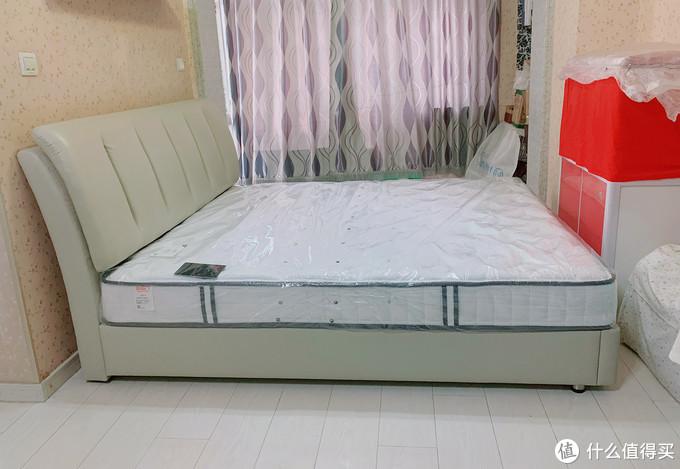 超高性价比的卧室首选!喜临门天琴湾头层牛皮软床+星空R床垫套装体验报告