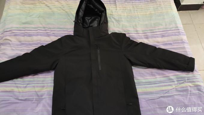 小米有品双一十购物寒冷的冬天有一款能加热的羽绒服加持爽歪歪