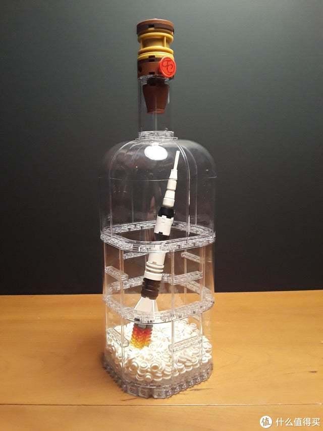 旧瓶装新酒,乐高瓶中船 21313 动手玩