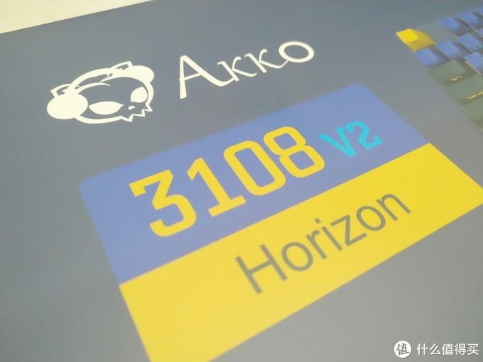 AKKO 3108 地平线不专业开箱