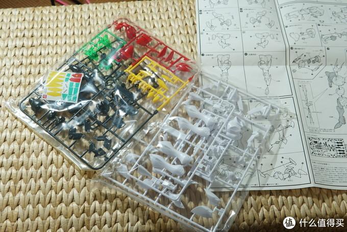 板件分为4块,在现在看来也属于比较容易的模型了