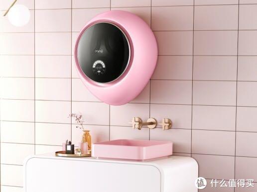 小SIZE大魅力,小吉壁挂洗烘一体洗衣机开启科技新生活