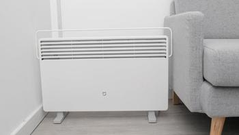 双十一小米智能电暖器评测智能电暖器体验(通电即热|连接米家APP|设定温度|语音操作)