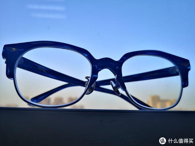 一副带翅膀的眼镜    GROOVER日本手工眼镜晒物  GOROUND 系列
