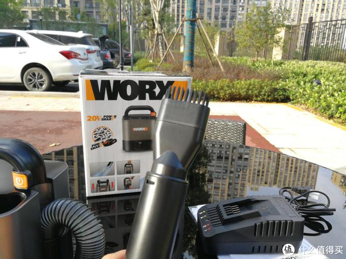 我很方但我很猛-威克士无线车载吸尘器WX030 开箱实测