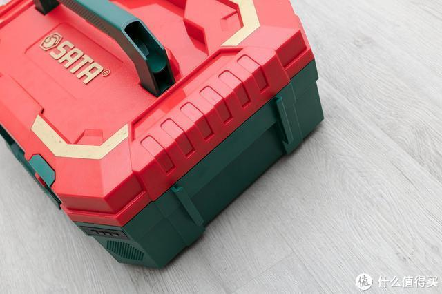 世达电动五金工具箱20周年纪念版,好看好用真实在