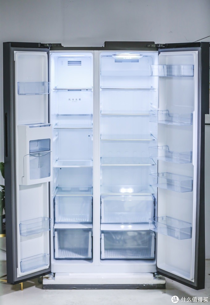 美的639L急速净味冰箱,颜值与功能同时在线