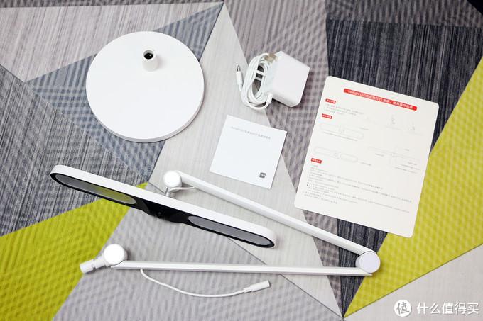 双光线感应搭配多角度可调设计,一键智能调光,Yeelight光感智能台灯体验