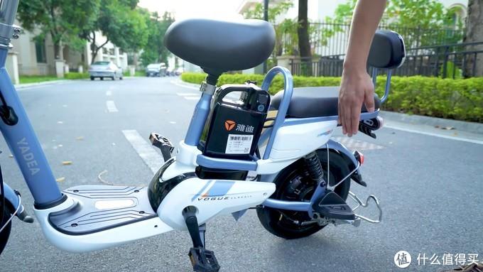 【新国标电动自行车测评】雅迪小王子锂电版,这个双十一值不值得买?