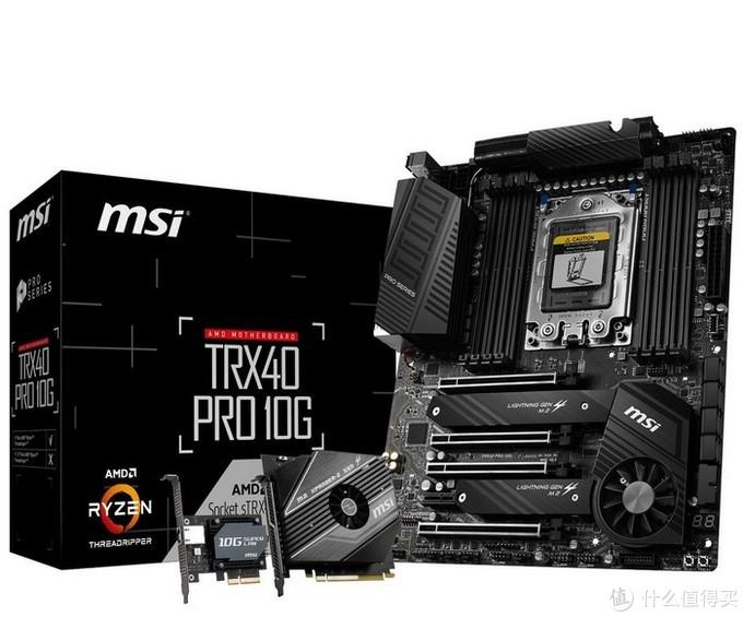 """第三代""""撕裂者""""新座驾:msi 微星 发布 三款 TRX40 旗舰主板"""