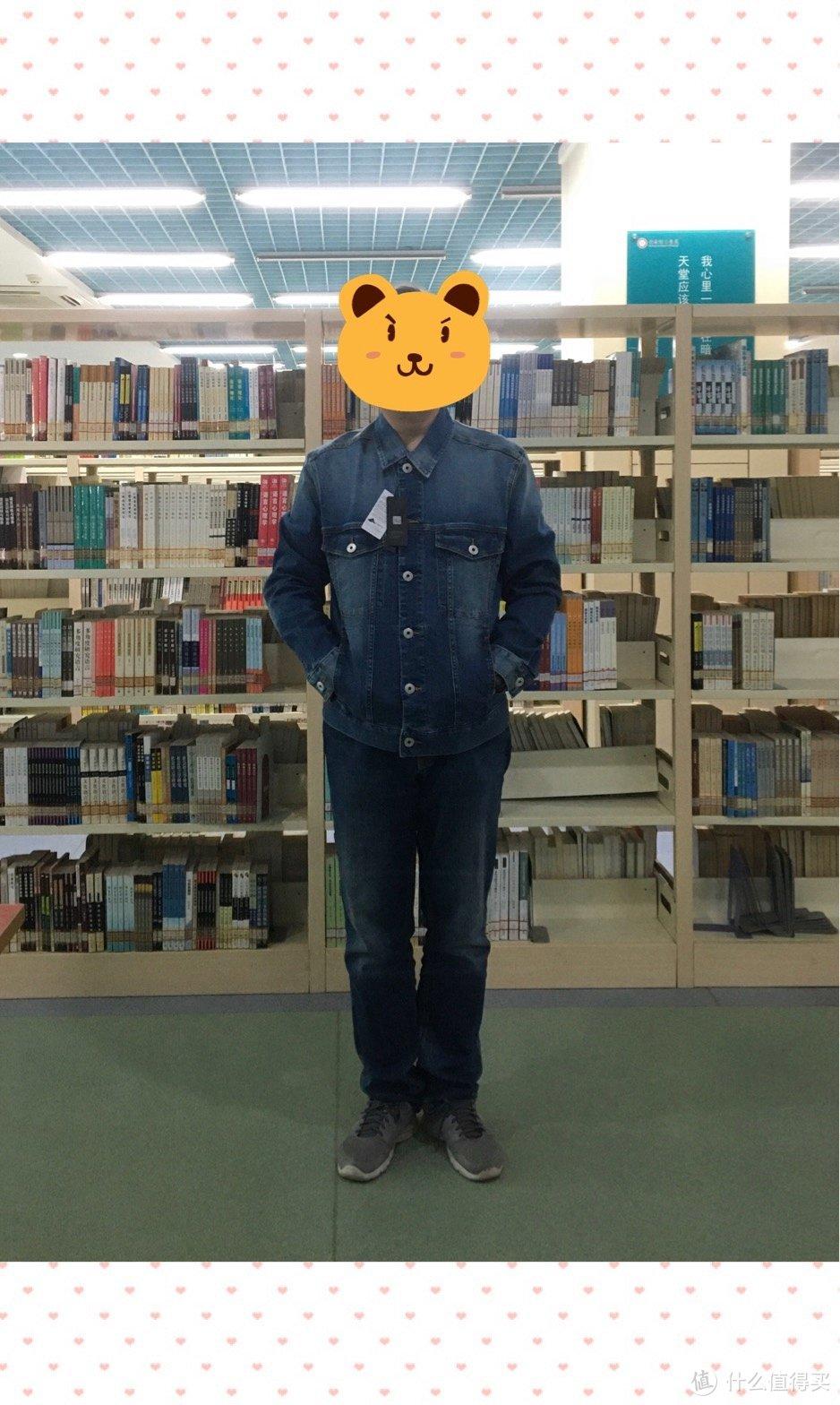 图书馆猿のINTERIGHT系列晒单 11:男士牛仔夹克 简单晒
