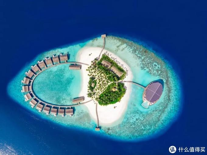 ▲马尔代夫库达度私人岛