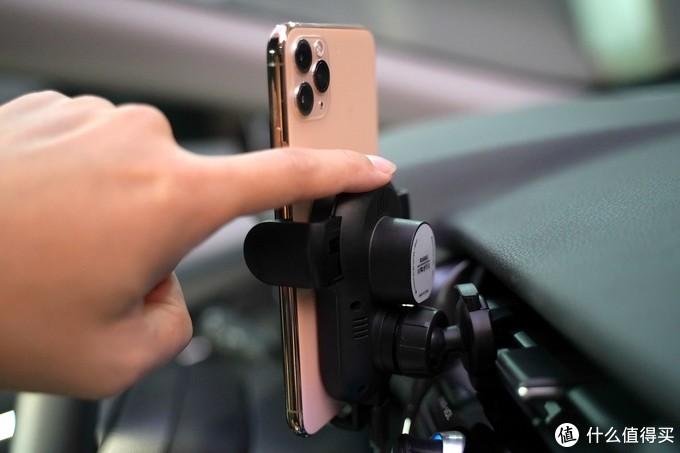 支持苹果7.5W无线快充!RAGAU车载无线快充支架评测(R9601)