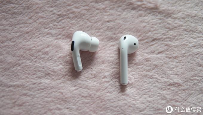 耳机与一代相比,变矮也变胖了