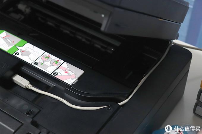 彩打快易省,家用完全体:兄弟DCP-T710W彩色喷墨多功能一体打印机