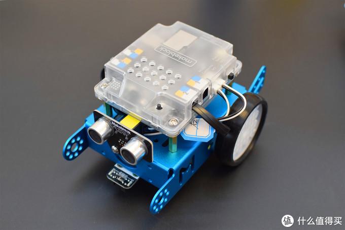 寓教于乐,梦想在自己动手中现实--童心制物(Makeblock) mBot编程教育机器人体验