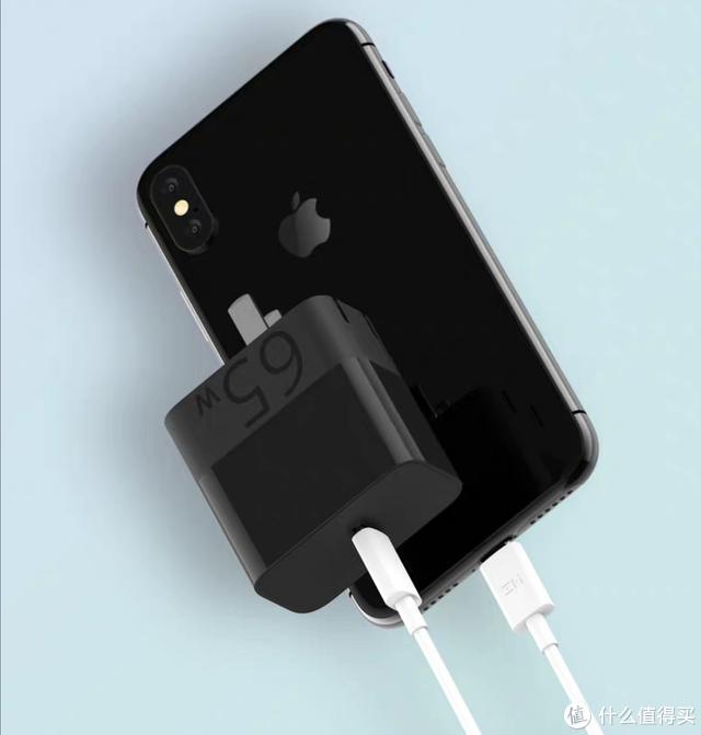 129元小米新品,ZMI 65W单USB-C快充头,充iPhone爽了