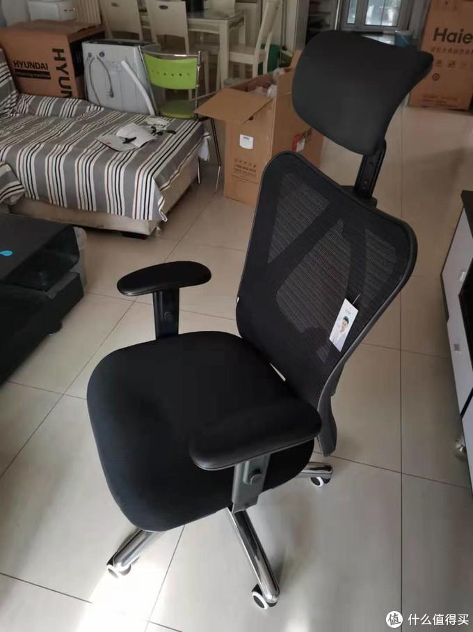 西昊M18人体工学椅晒单简评
