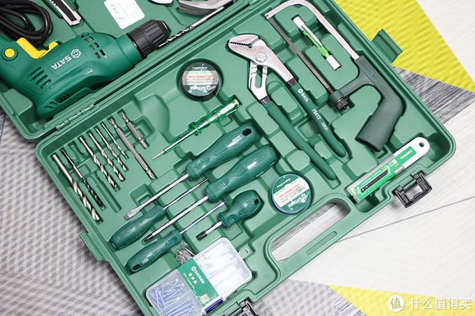 修理安装不靠人,一套工具全都成,世达58件家装多功能套装体验