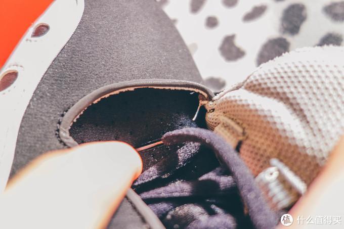 这个系统部分整个就是一个鞋面和内部的袜套